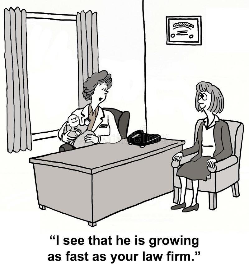 Tillväxtspurt vektor illustrationer