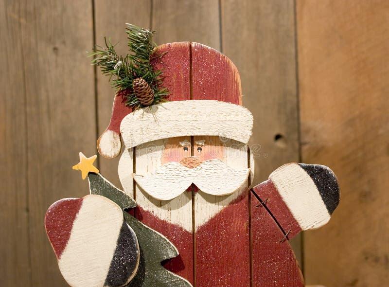 Download Tillverkad hand santa fotografering för bildbyråer. Bild av brigham - 42185