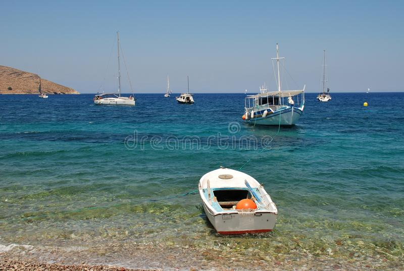 Download Tilos island, Greece editorial stock photo. Image of outdoors - 83708903