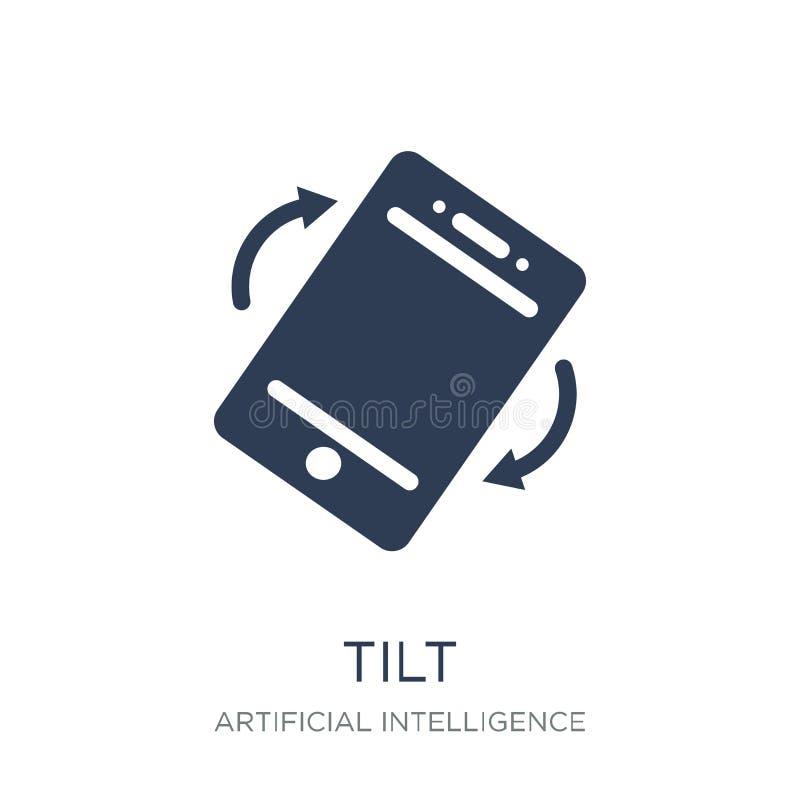 Tilt icon. Trendy flat vector Tilt icon on white background from stock illustration