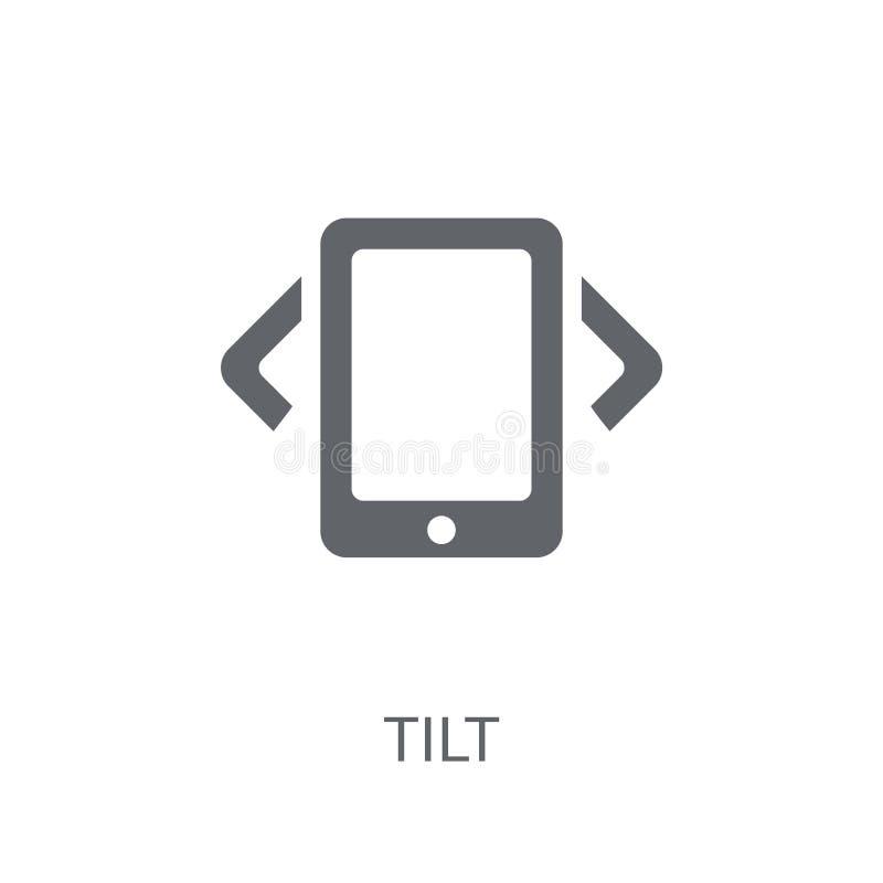Tilt icon. Trendy Tilt logo concept on white background from Art vector illustration