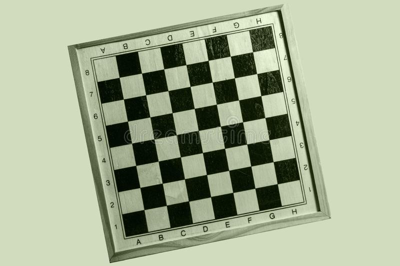Tilted Chess Board Design stock photos