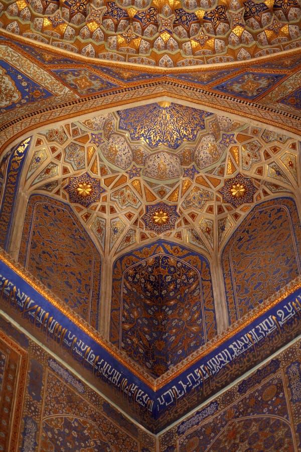 tilya för madrasah för ingångsfoajékori royaltyfri fotografi