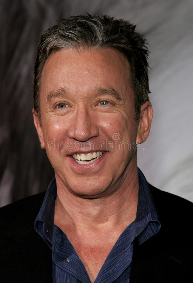 Tim Allen. Attends the Walt Disney's World Premiere of The Shaggy Dog held at the El Capitan Theatre in Hollywood, California on March 7, 2006 royalty free stock images