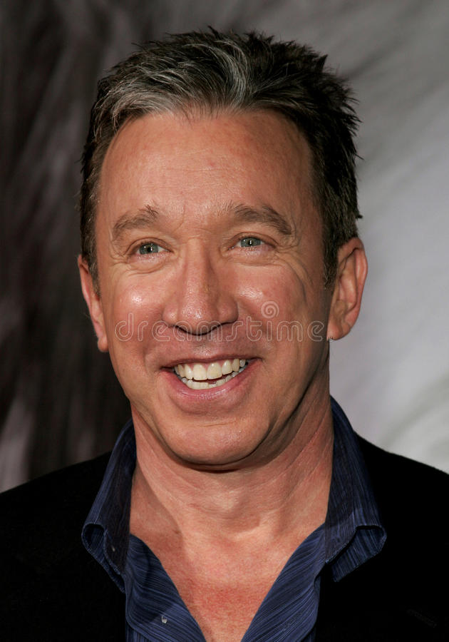 Tim Allen. 03/07/2006 - Hollywood - Tim Allen attends the Walt Disney's World Premiere of The Shaggy Dog held at the El Capitan Theatre in Hollywood, California stock photography