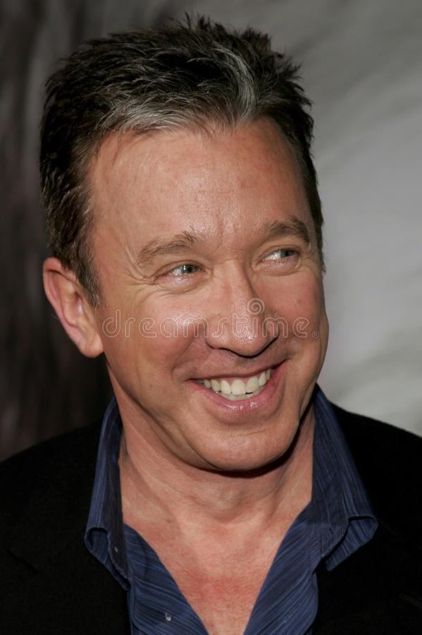 Tim Allen. HOLLYWOOD, CALIFORNIA. March 7, 2006. Tim Allen attends the Walt Disney's World Premiere of The Shaggy Dog held at the El Capitan Theatre in Hollywood royalty free stock image