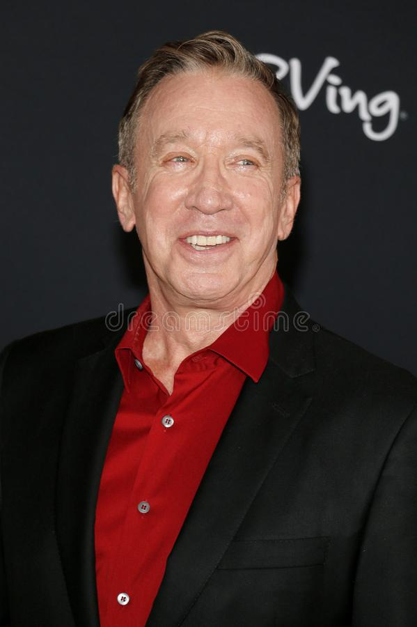 Tim Allen. At the World premiere of `Toy Story 4` held at the El Capitan Theater in Hollywood, USA on June 11, 2019 stock photography