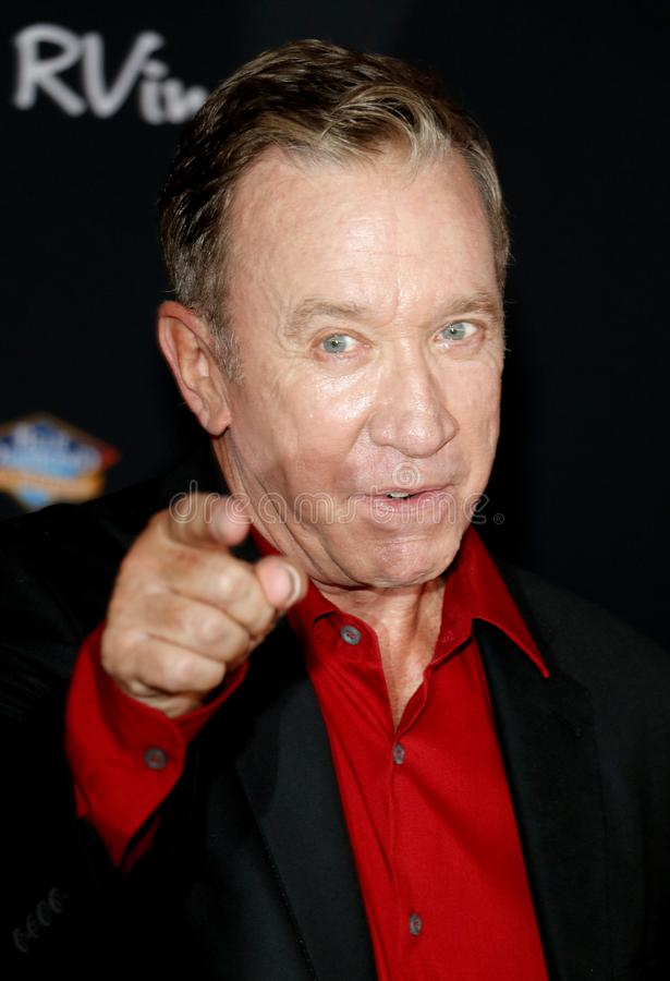Tim Allen. At the World premiere of `Toy Story 4` held at the El Capitan Theater in Hollywood, USA on June 11, 2019 stock image