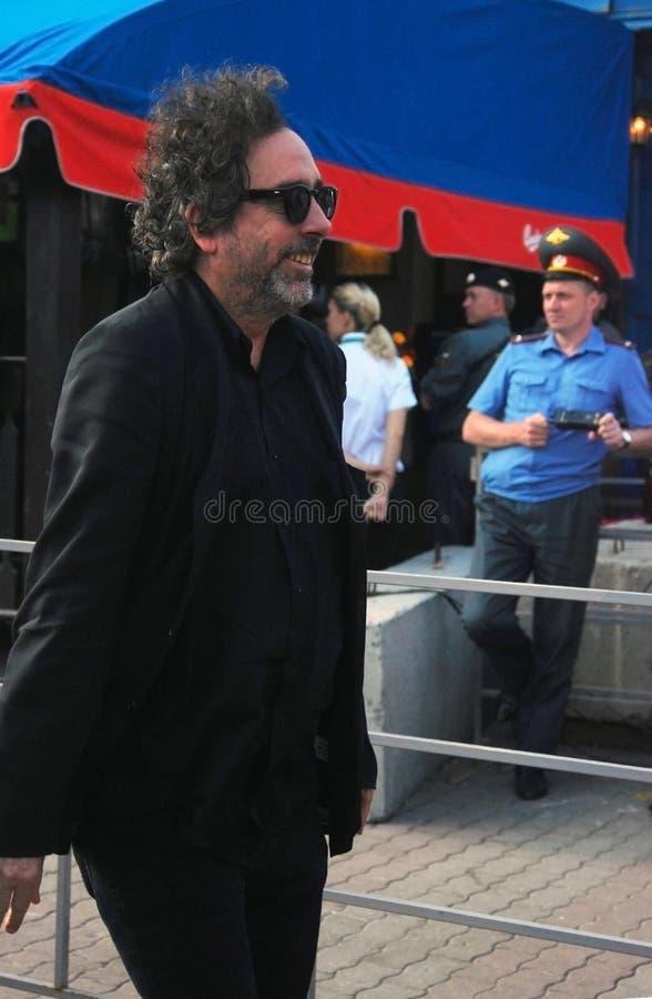 Tim Burton At Moscow Film Festival Editorial Image
