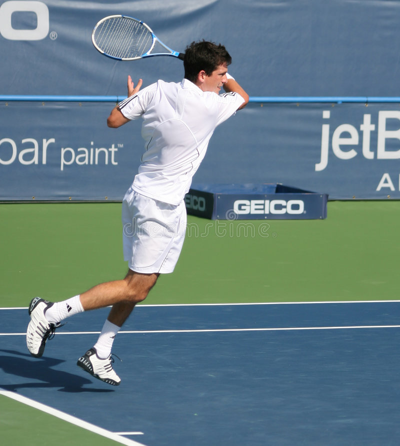 Free Tim Henman Forehand Stock Photography - 4236372