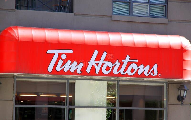 Tim Hortons fotos de stock