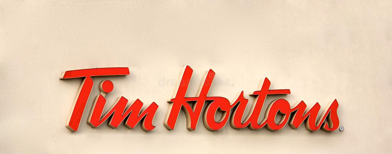 Tim Hortons photos stock