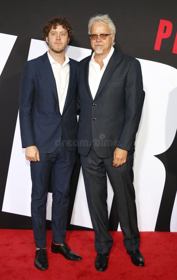 Tim Robbins и Джек Генри Robbins стоковое изображение