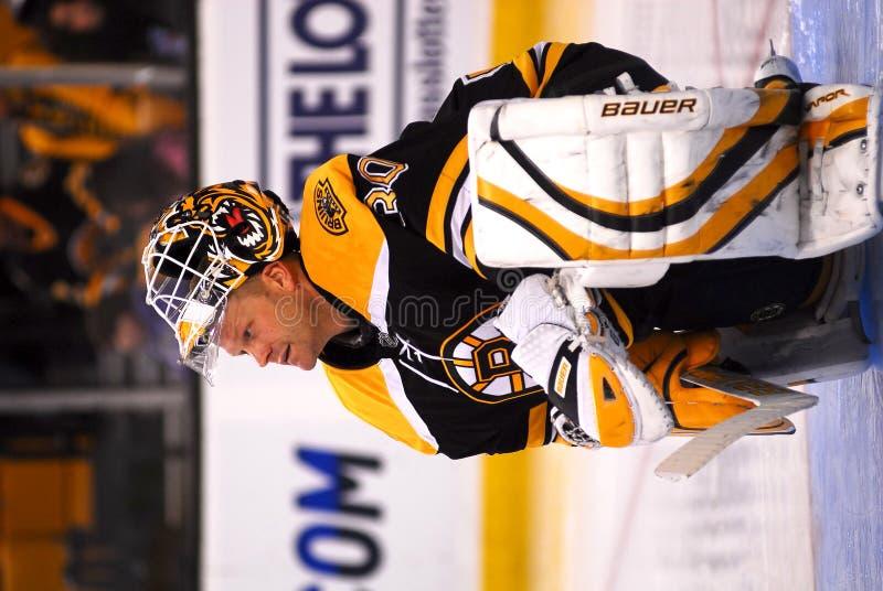 Tim Thomas Boston Bruins. Boston Bruins goalie Tim Thomas #30 royalty free stock photography