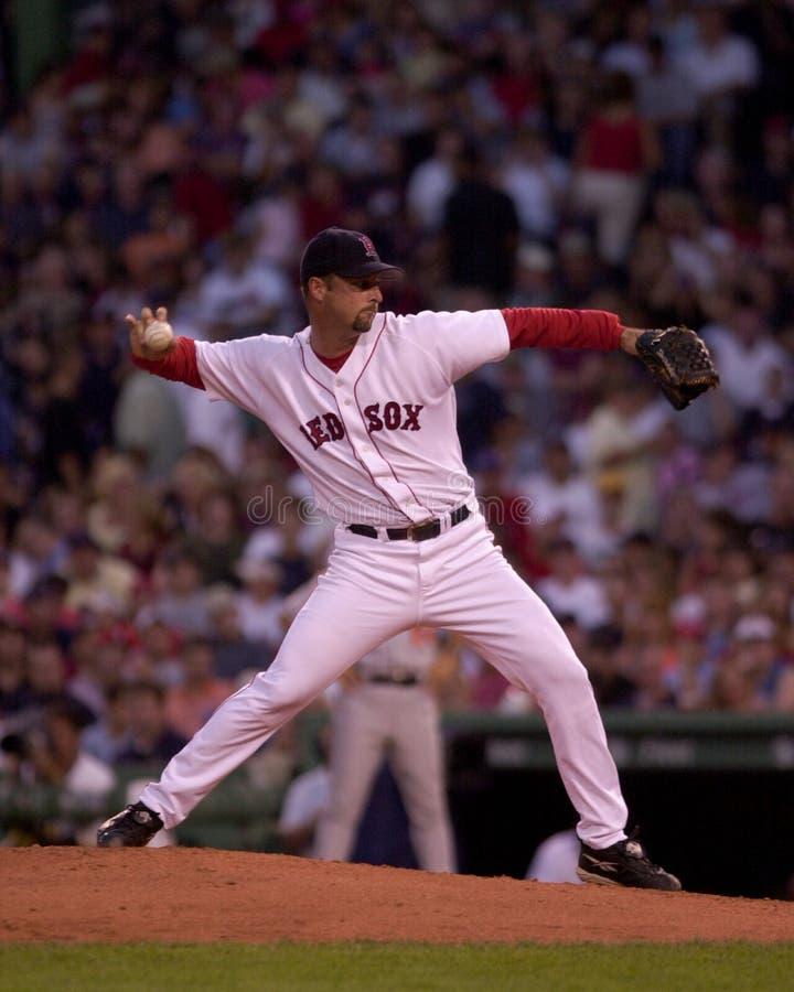 Tim Wakefield Boston Red Sox arkivfoto