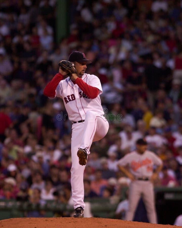 Tim Wakefield Boston Red Sox royaltyfri fotografi