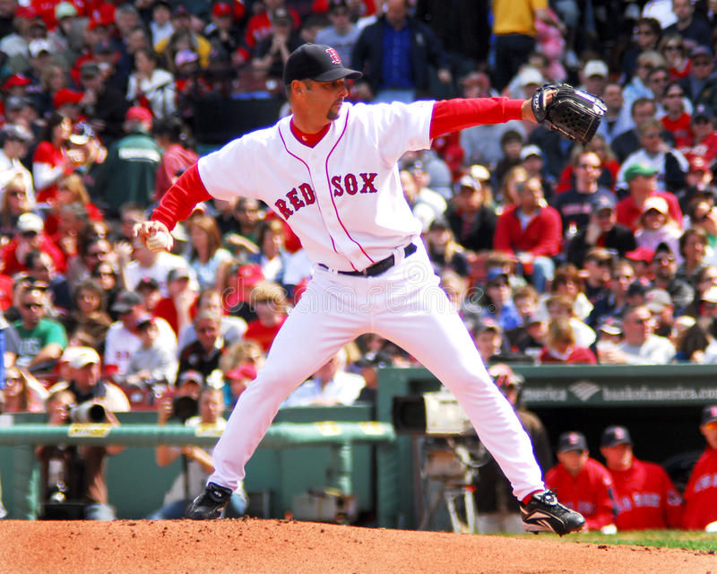 Tim Wakefield Boston Red Sox stock image