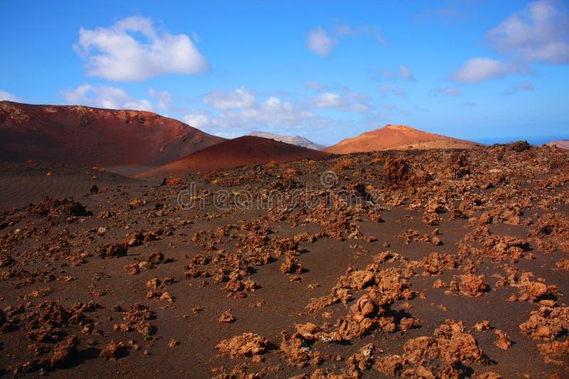 Timanfaya, Lanzarote royalty free stock photos