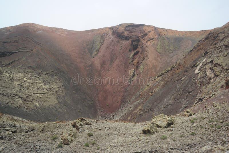 Timanfaya park narodowy, Lanzarote, Canaria wyspy obraz stock