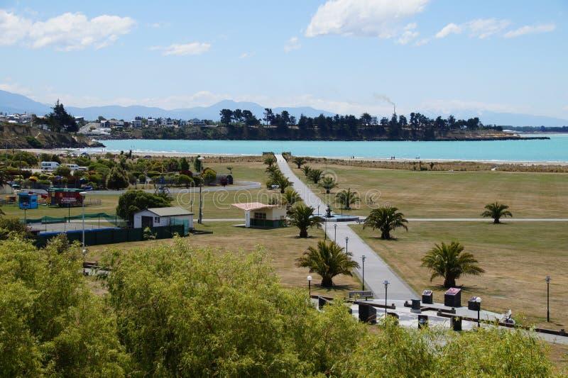 Timaru,新西兰 免版税库存照片