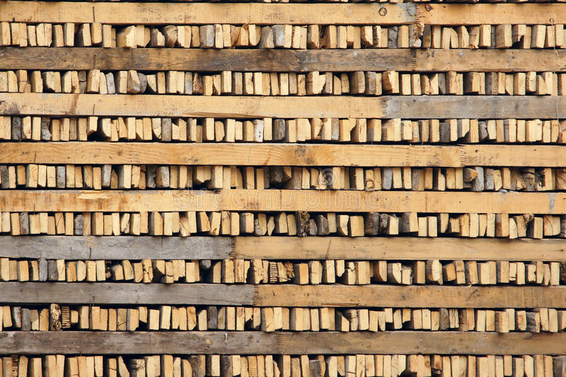 Timber. The background of timber stacked orderly royalty free stock photo