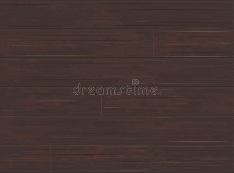 Timber Ash Walnut Wood Flooring Background med skalad färg royaltyfri illustrationer