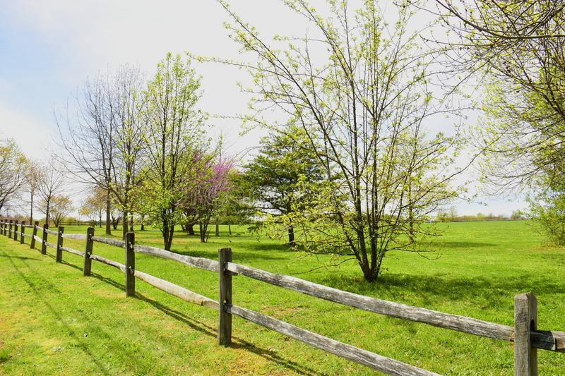 Wooden rail fence stock image  Image of countryside - 107706429