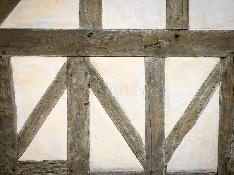 Timber frame wall stock photo. Image of abstract, construction ...