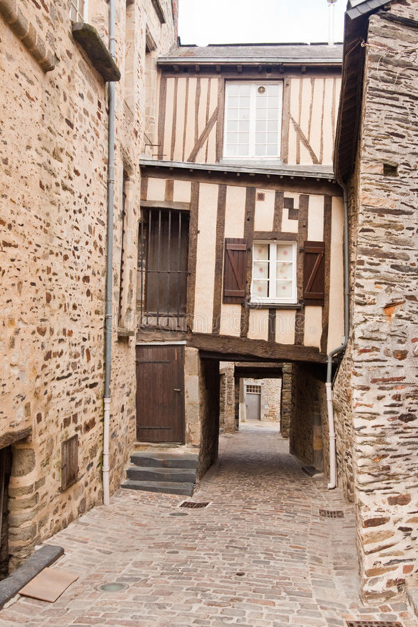 Download Timber Framed House In Vitre Stock Photo - Image: 15666592