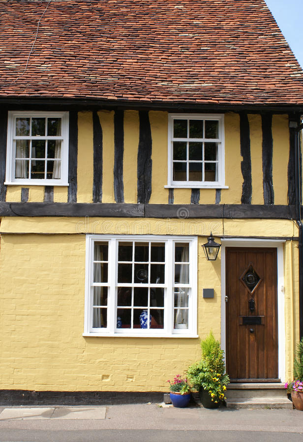 Free Timber-framed Tudor-style House Stock Image - 12389101