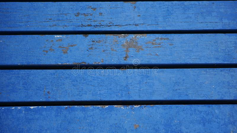 Timber plank floor of a small wood bridge royalty free stock image