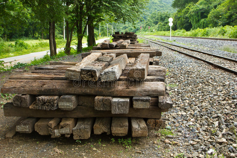 Download Timber rails stock image. Image of depth, travel, metal - 33226287