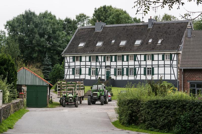 Timbered Hofcafe Abtskueche стоковая фотография