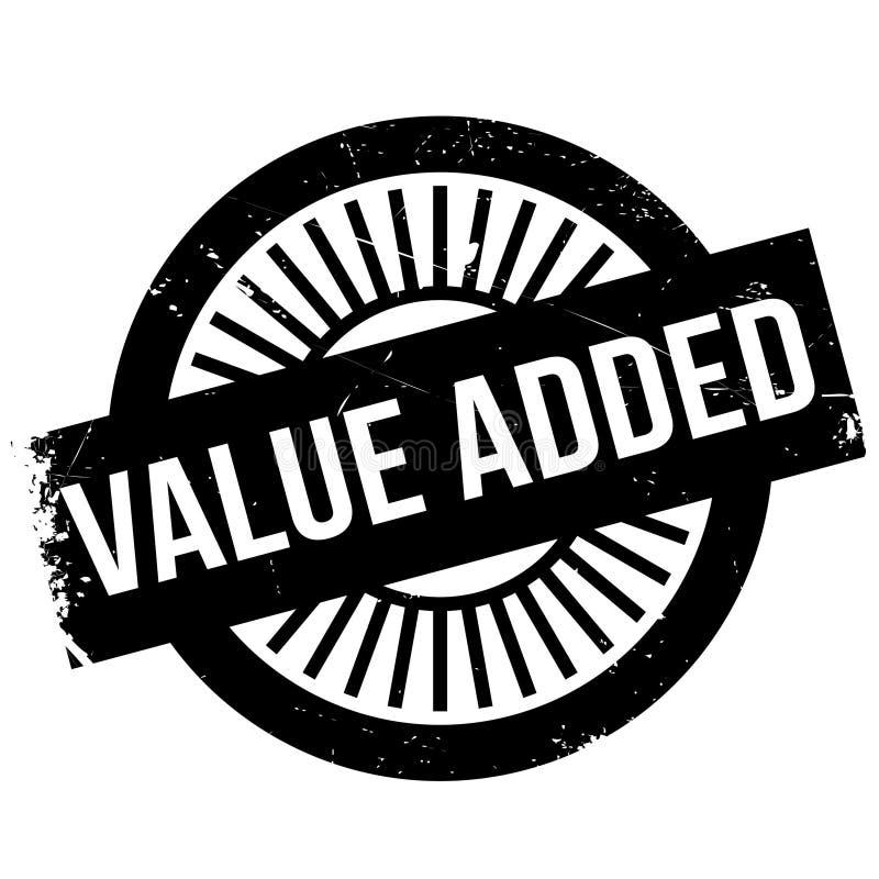 Timbre à valeur ajoutée illustration de vecteur