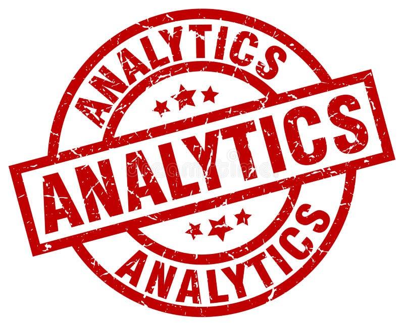 Timbre d'Analytics illustration de vecteur
