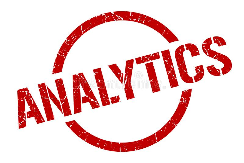 Timbre d'Analytics illustration libre de droits