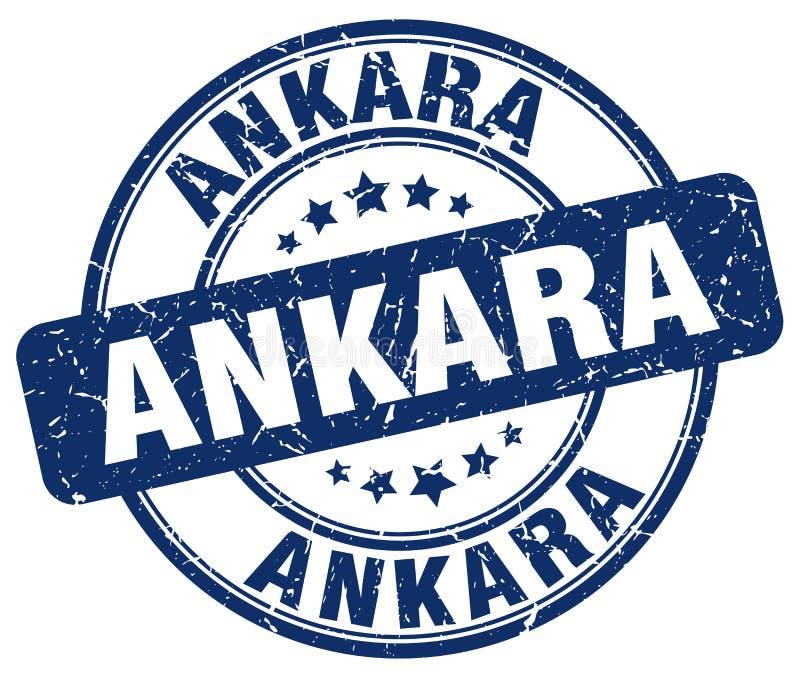 Timbre d'Ankara illustration stock