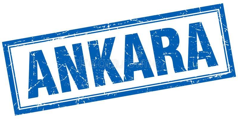 Timbre d'Ankara illustration de vecteur