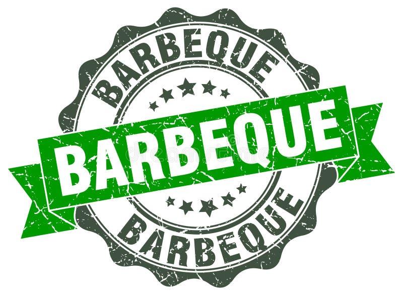 Timbre de barbecue illustration libre de droits