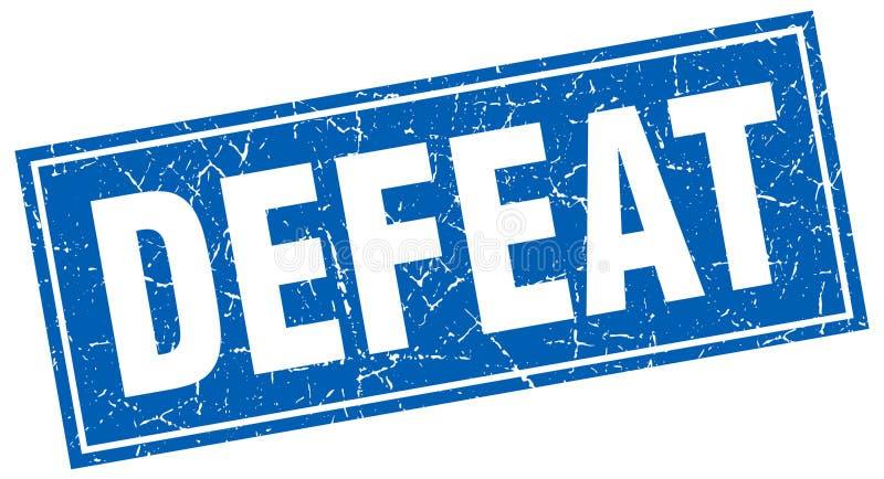 Timbre de défaite illustration libre de droits