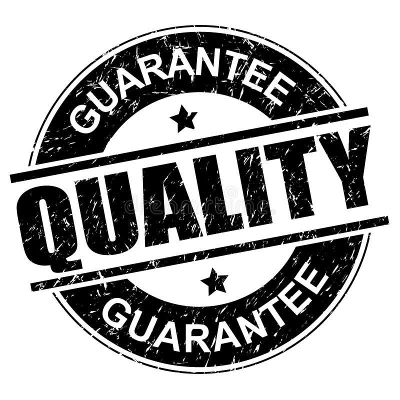 Timbre de garantie de qualité illustration de vecteur