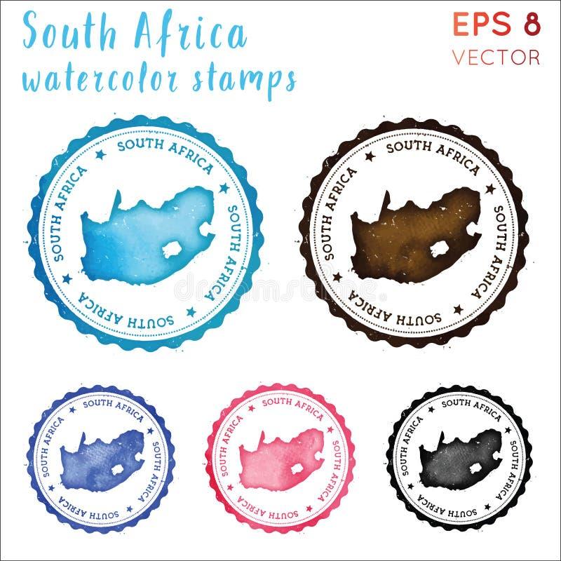 Timbre de l'Afrique du Sud illustration libre de droits