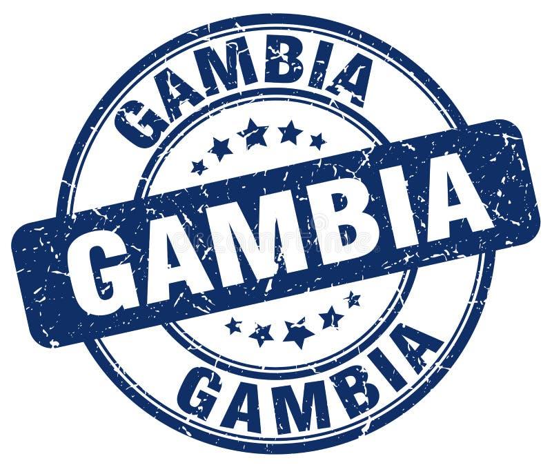 Timbre de la Gambie illustration libre de droits