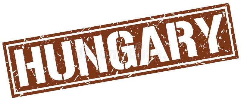Timbre de la Hongrie illustration stock