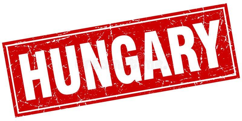 Timbre de la Hongrie illustration libre de droits