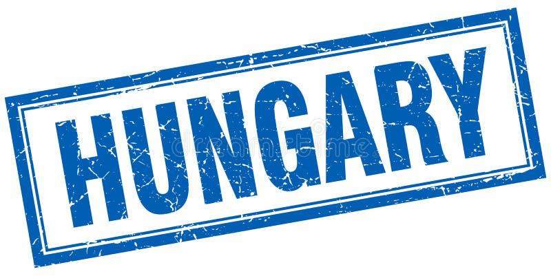 Timbre de la Hongrie illustration de vecteur