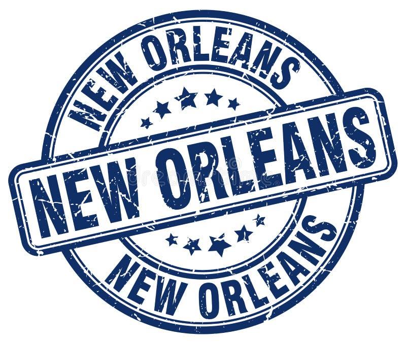 Timbre de la Nouvelle-Orléans illustration de vecteur