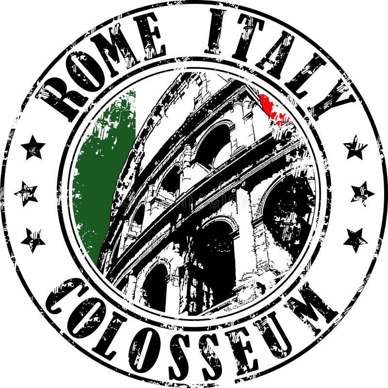 Timbre de Rome illustration libre de droits