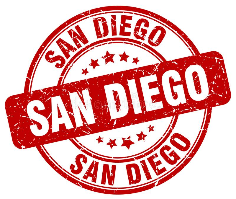 Timbre de San Diego illustration libre de droits