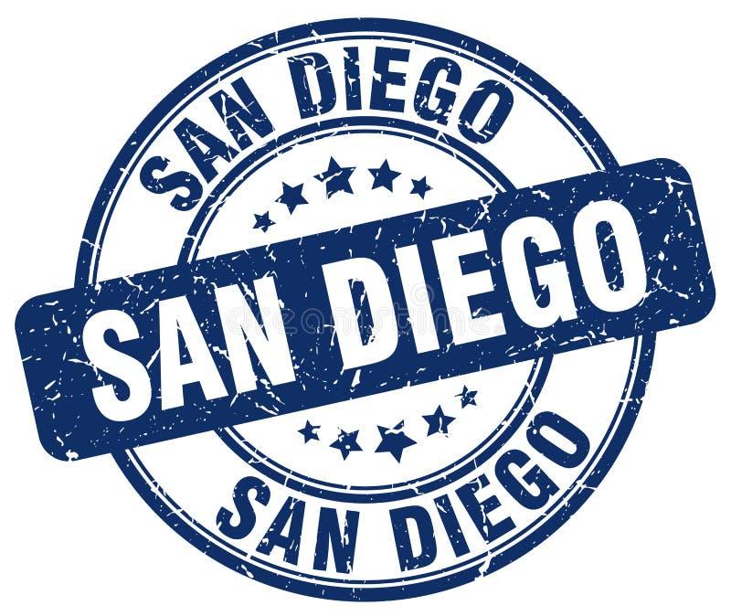 Timbre de San Diego illustration de vecteur